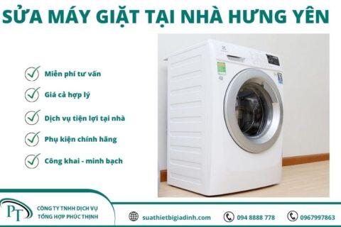Sửa máy giặt tại Hưng Yên chuyên nghiệp – giá rẻ – phục vụ nhanh chóng