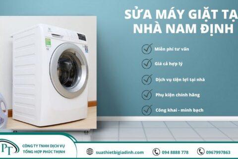 Sửa máy giặt tại Nam Định phục vụ nhanh chóng – chất lượng tuyệt đối